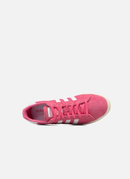 Sneakers adidas originals Campus Rosa immagine sinistra