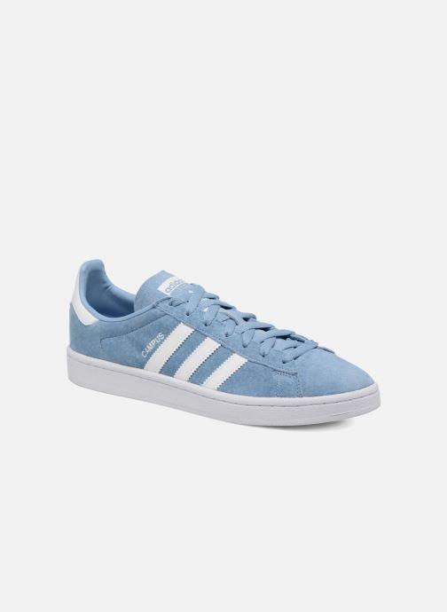sale retailer 3a0f5 b3bef Sneakers adidas originals Campus Blå detaljeret billede af skoene
