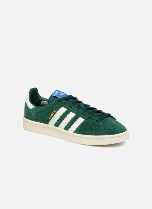 new product 344d4 925ac Sneakers adidas originals Campus Grøn detaljeret billede af skoene