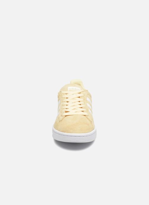 Sneaker adidas originals Campus gelb schuhe getragen