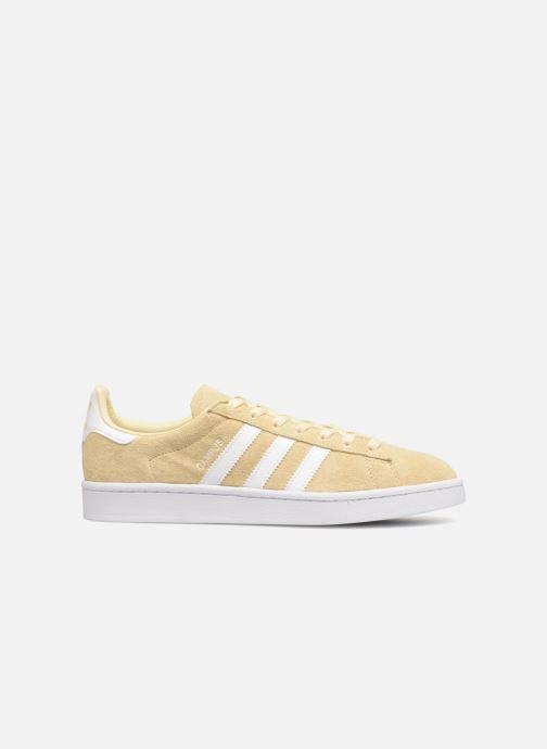 Sneaker adidas originals Campus gelb ansicht von hinten