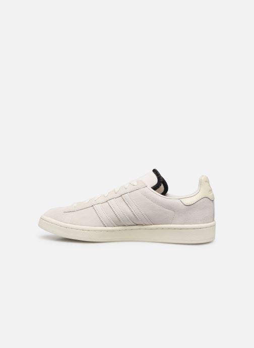 Sneakers adidas originals Campus Wit voorkant