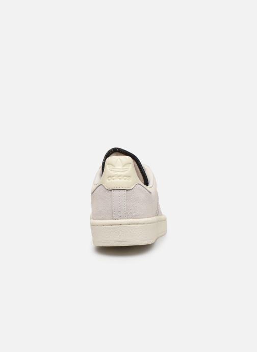 Sneakers adidas originals Campus Wit rechts