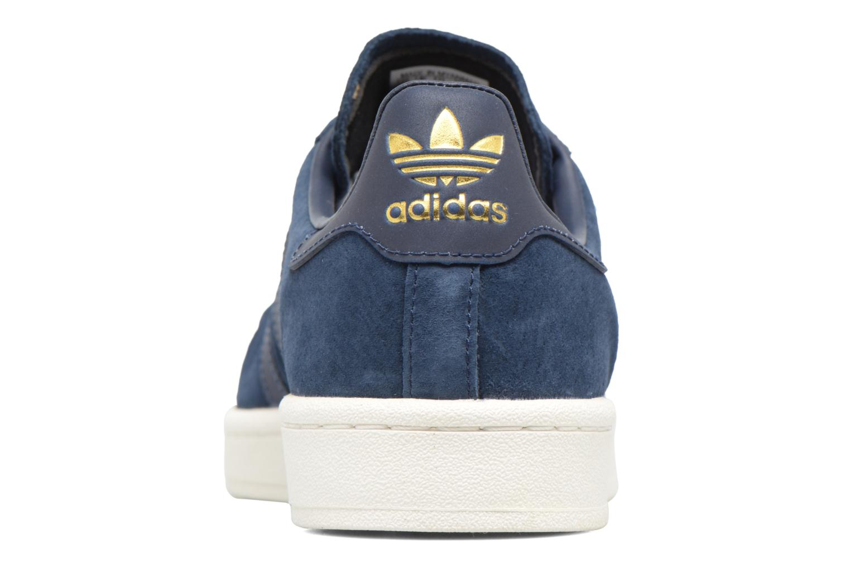Baskets Adidas Originals Campus Bleu vue droite