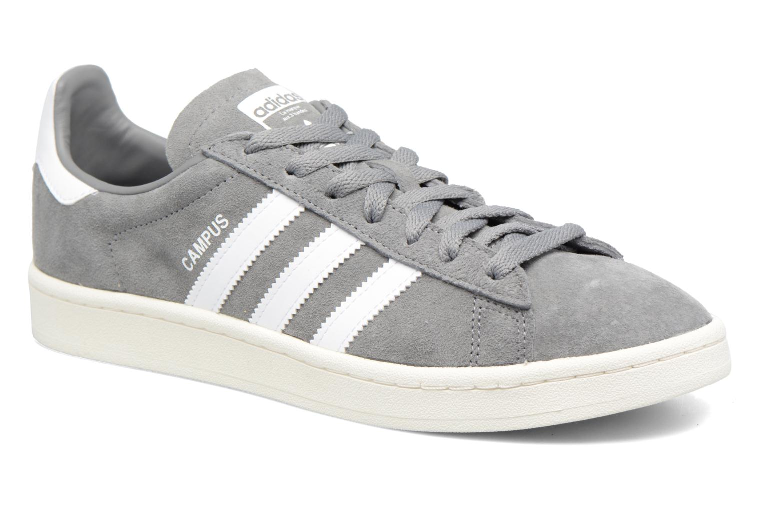 Sarenza Chez Adidas Originals gris Baskets Campus 307209 FRXR1C