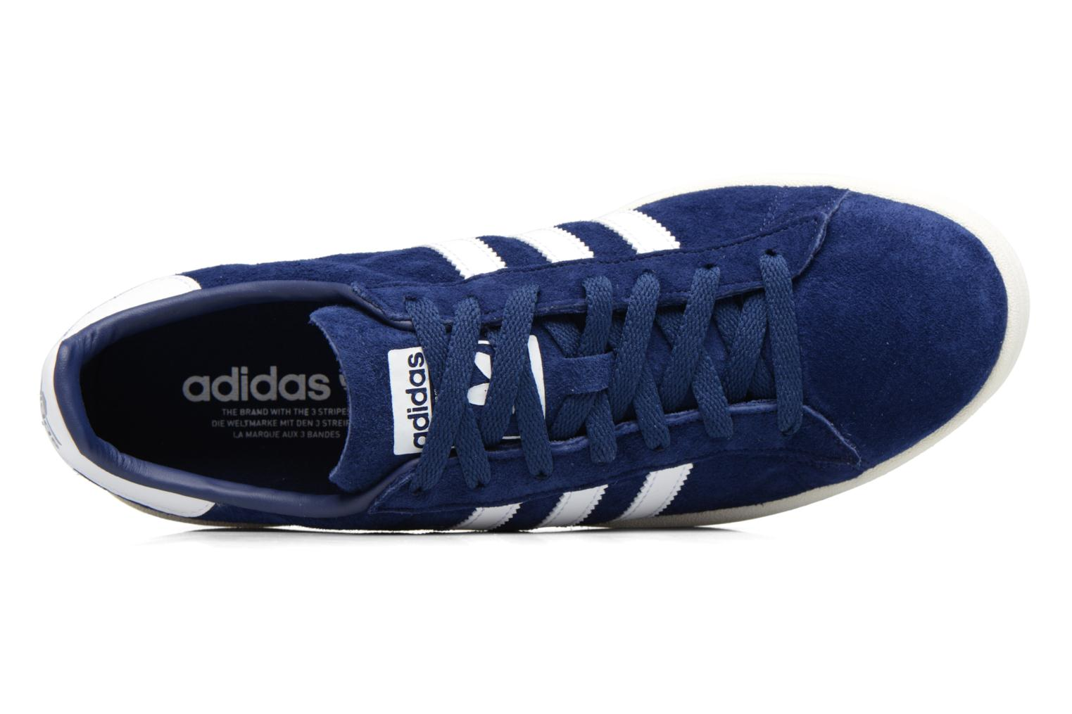 Baskets Adidas Originals Campus Bleu vue gauche