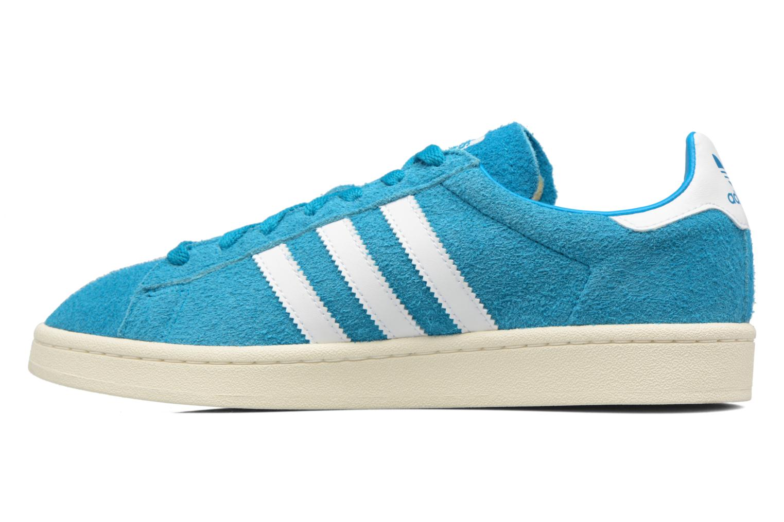Baskets Adidas Originals Campus Bleu vue face