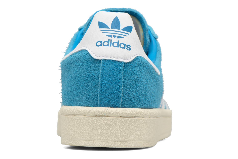 Sneaker Adidas Originals Campus blau ansicht von hinten
