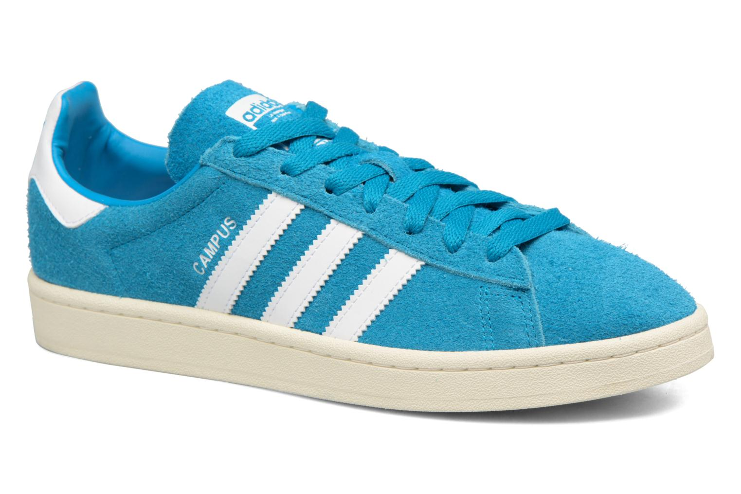 Baskets Adidas Originals Campus Bleu vue détail/paire