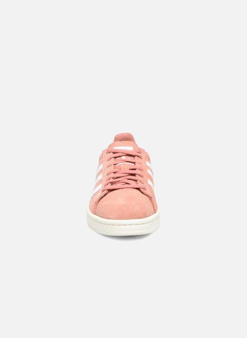 Trainers adidas originals Campus W Pink model view