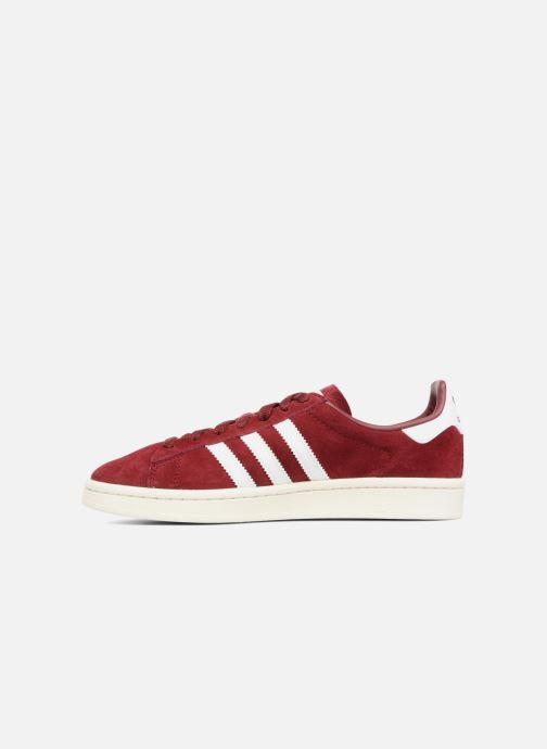 Trainers Adidas Originals Campus W Burgundy front view