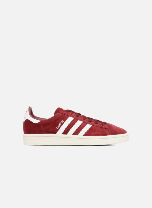 Trainers adidas originals Campus W Burgundy back view