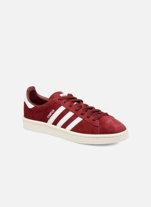 Baskets adidas originals Campus W Bordeaux vue détail/paire