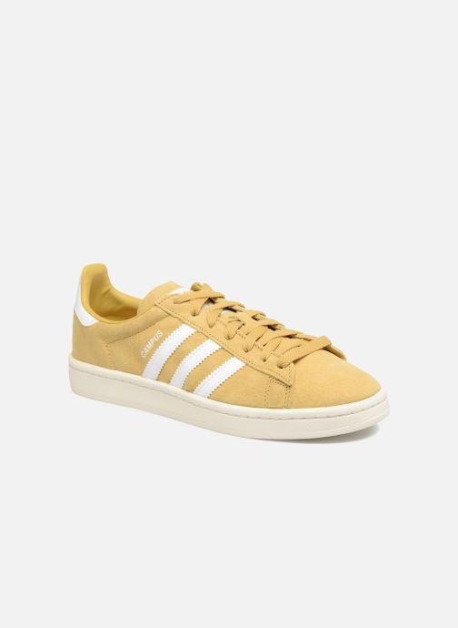 best cheap 6fd9d 672b4 Sneakers adidas originals Campus W Gul detaljeret billede af skoene