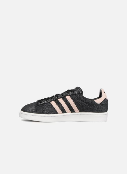 Sneakers Adidas Originals Campus W Nero immagine frontale