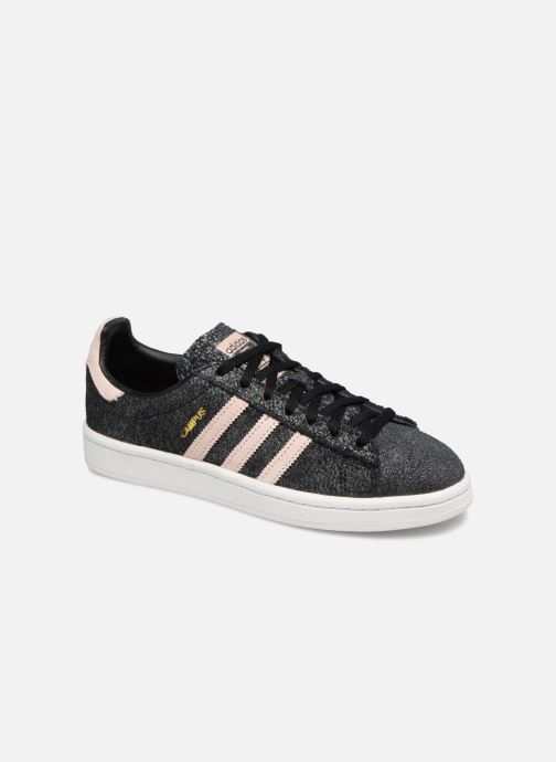 Baskets adidas originals Campus W Noir vue détail/paire
