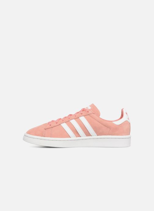 Sneaker adidas originals Campus W rosa ansicht von vorne