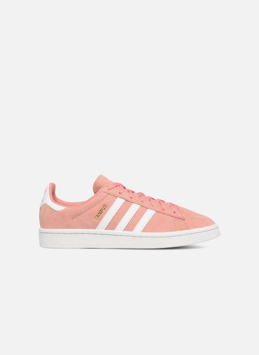 Sneaker Adidas Originals Campus W rosa ansicht von hinten