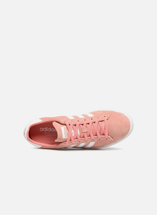 Sneaker adidas originals Campus W rosa ansicht von links