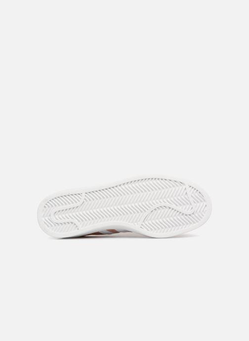 Sneaker adidas originals Campus W rosa ansicht von oben