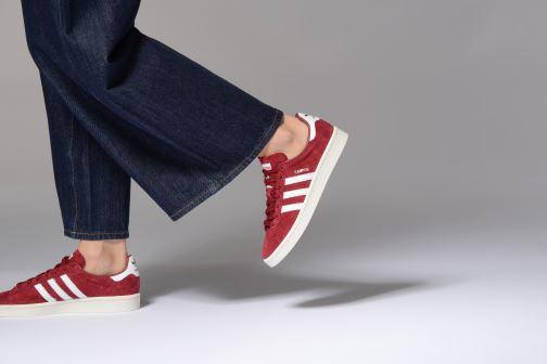 Sneakers adidas originals Campus W Rosa immagine dal basso