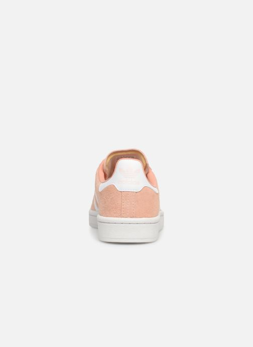 Sneakers adidas originals Campus W Roze rechts
