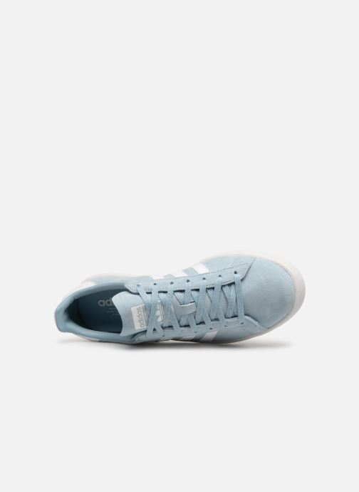 Baskets adidas originals Campus W Bleu vue gauche