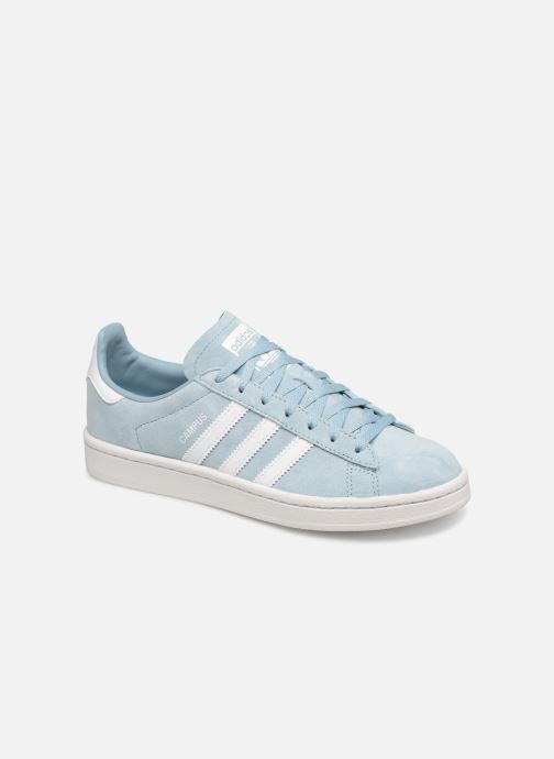 Sneakers adidas originals Campus W Blå detaljeret billede af skoene