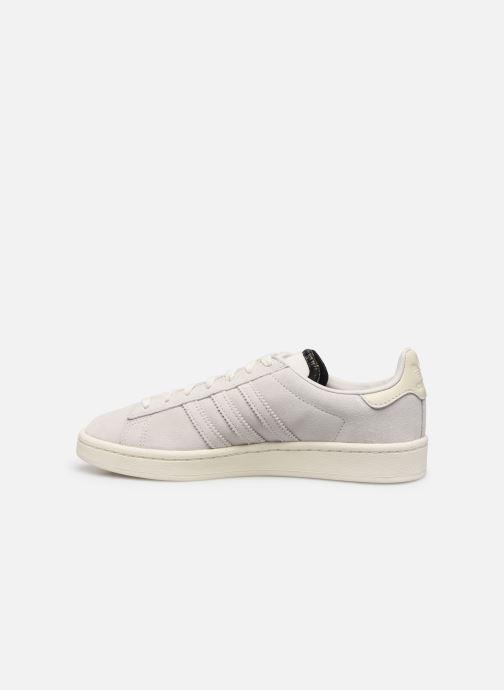 Sneakers adidas originals Campus W Wit voorkant