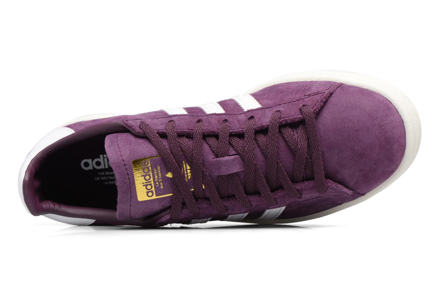 Baskets Adidas Originals Campus W Violet vue gauche