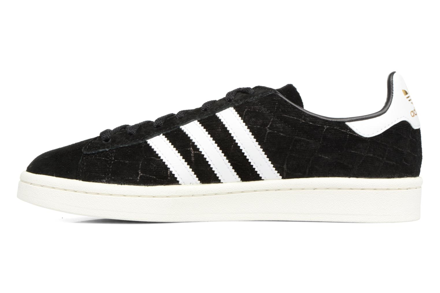 Baskets Adidas Originals Campus W Noir vue face