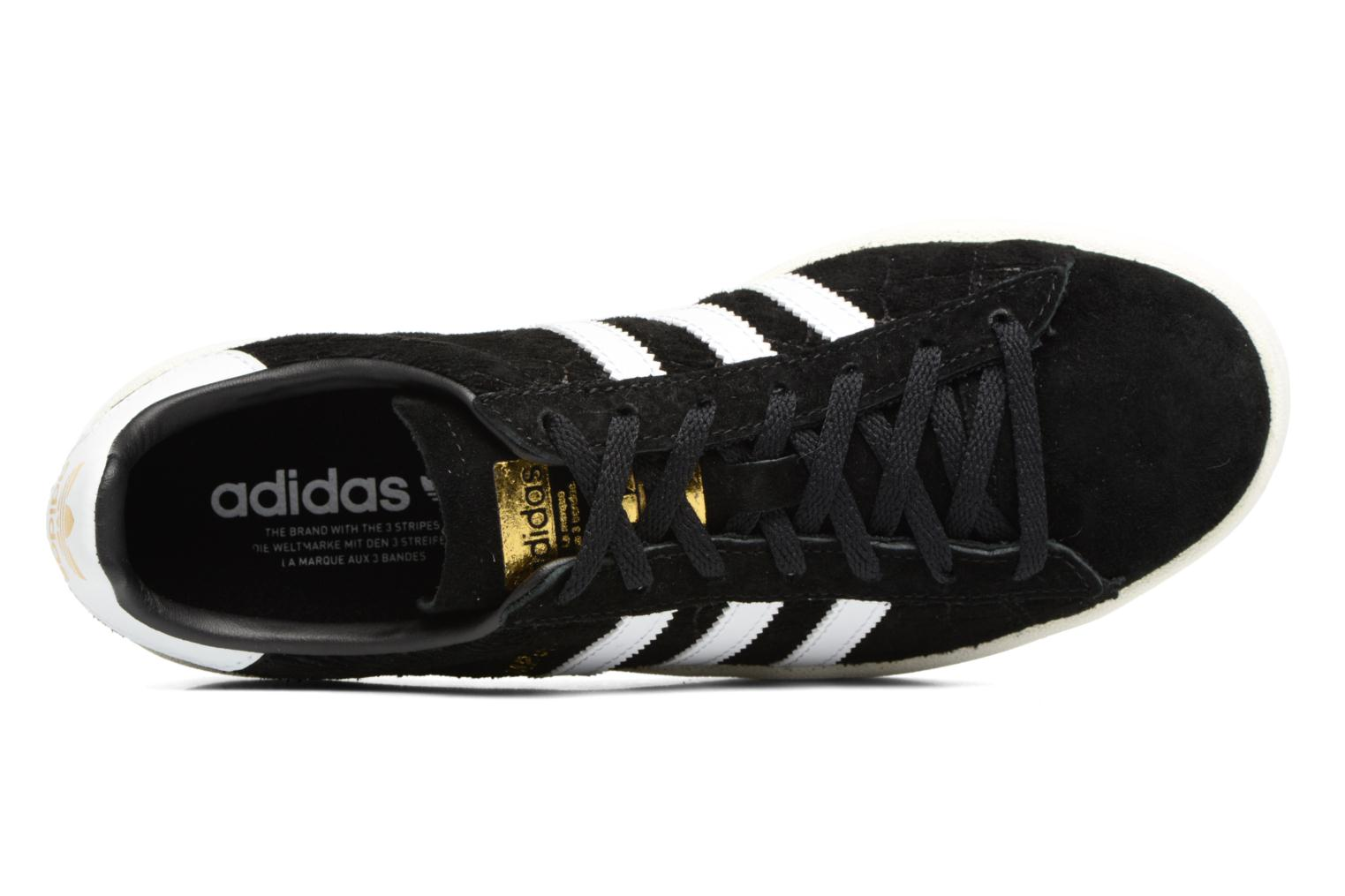 Baskets Adidas Originals Campus W Noir vue gauche