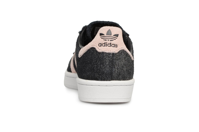 Baskets Adidas Originals Campus W Noir vue droite