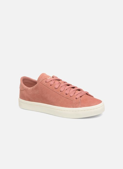 Sneaker adidas originals Courtvantage W rosa detaillierte ansicht/modell
