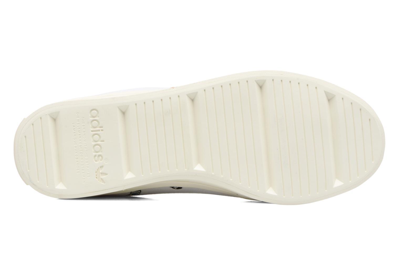 Deportivas Adidas Originals Courtvantage W Blanco vista de arriba