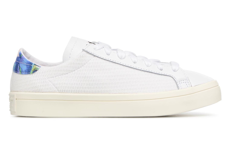 Baskets Adidas Originals Courtvantage W Blanc vue derrière