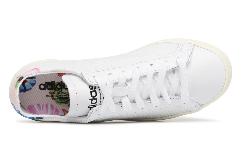 Baskets Adidas Originals Courtvantage W Blanc vue gauche
