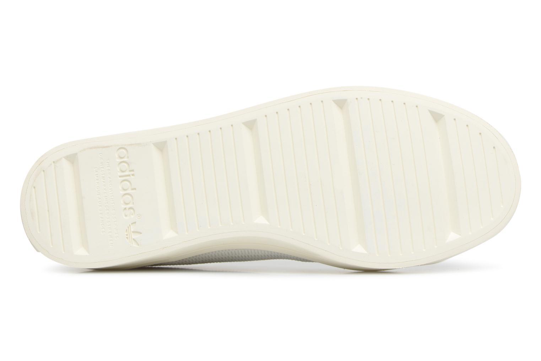 Baskets Adidas Originals Courtvantage W Blanc vue haut