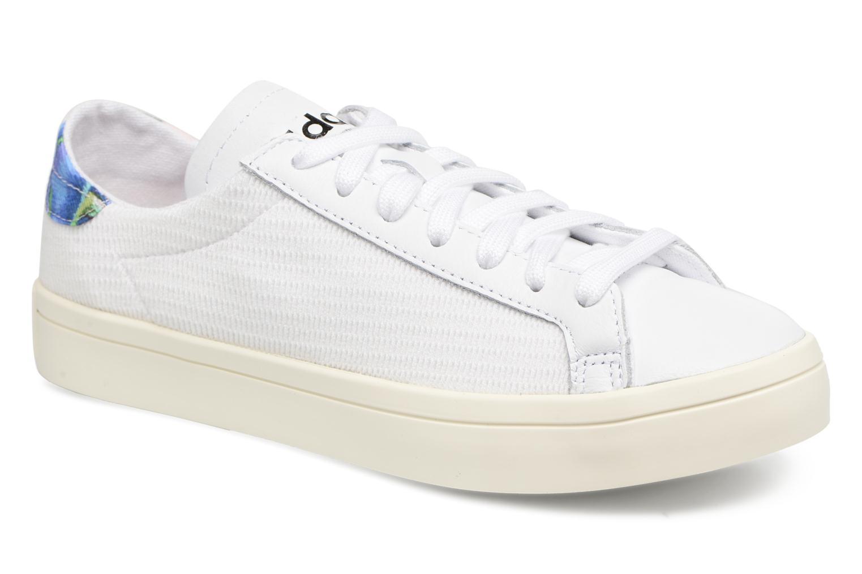 Baskets Adidas Originals Courtvantage W Blanc vue détail/paire