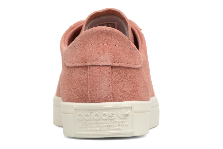 Sneaker Adidas Originals Courtvantage W rosa ansicht von rechts