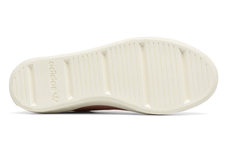 Sneaker Adidas Originals Courtvantage W rosa ansicht von oben