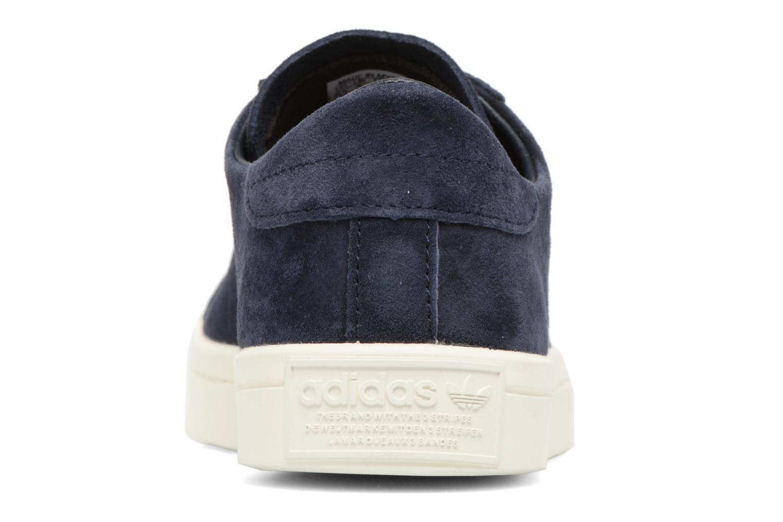Baskets Adidas Originals Courtvantage W Bleu vue droite