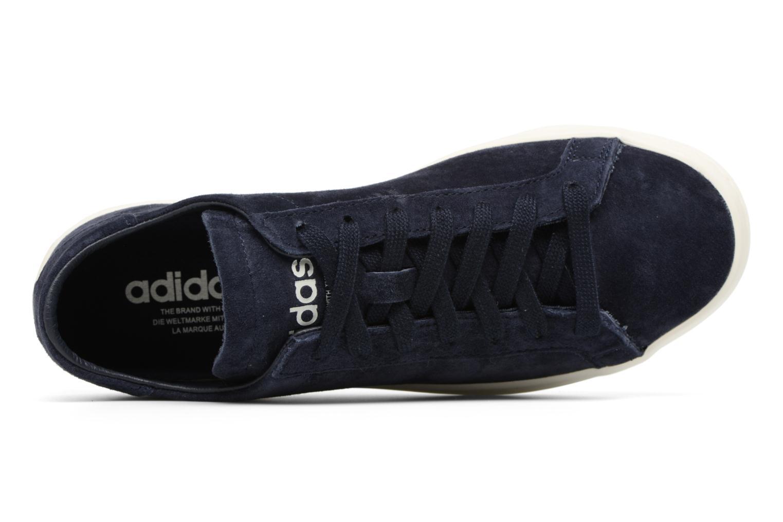 Baskets Adidas Originals Courtvantage W Bleu vue gauche
