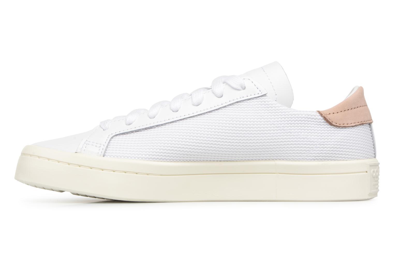 Sneaker Adidas Originals Courtvantage W weiß ansicht von vorne