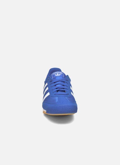 Sneaker Adidas Originals Dragon Og blau schuhe getragen