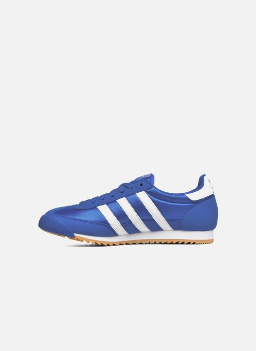 Baskets adidas originals Dragon Og Bleu vue face