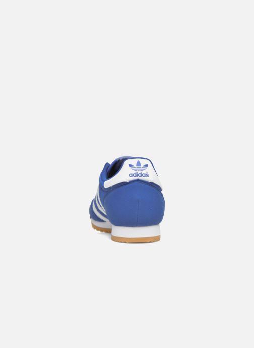 Baskets adidas originals Dragon Og Bleu vue droite