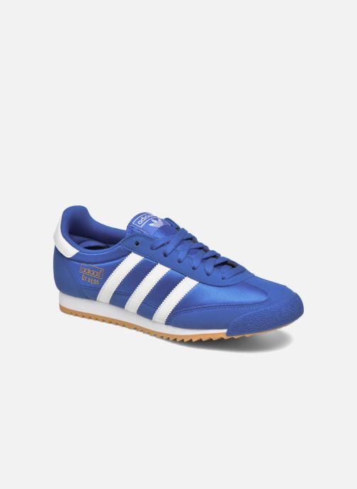 Baskets adidas originals Dragon Og Bleu vue détail/paire