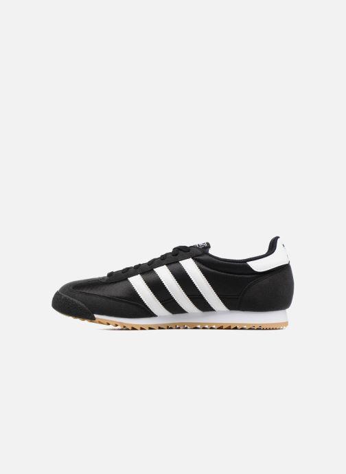 Sneakers adidas originals Dragon Og Zwart voorkant