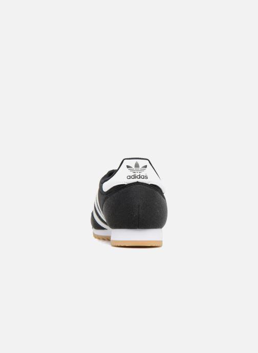 Sneaker adidas originals Dragon Og schwarz ansicht von rechts